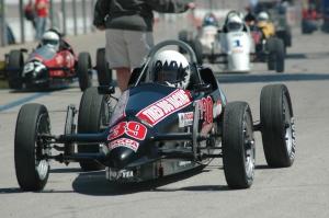 Tired Dog racing FV